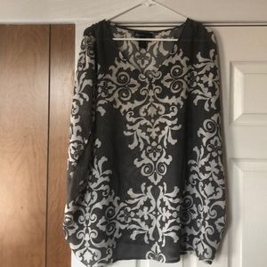 Great Flowy Top for NYE - Lane Bryant 22/24